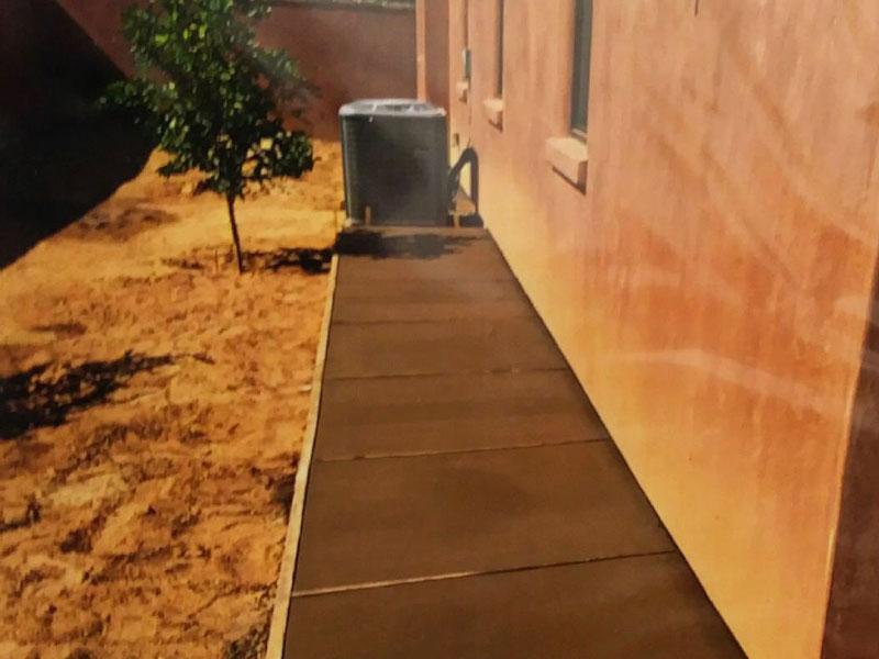 New Colored Concrete