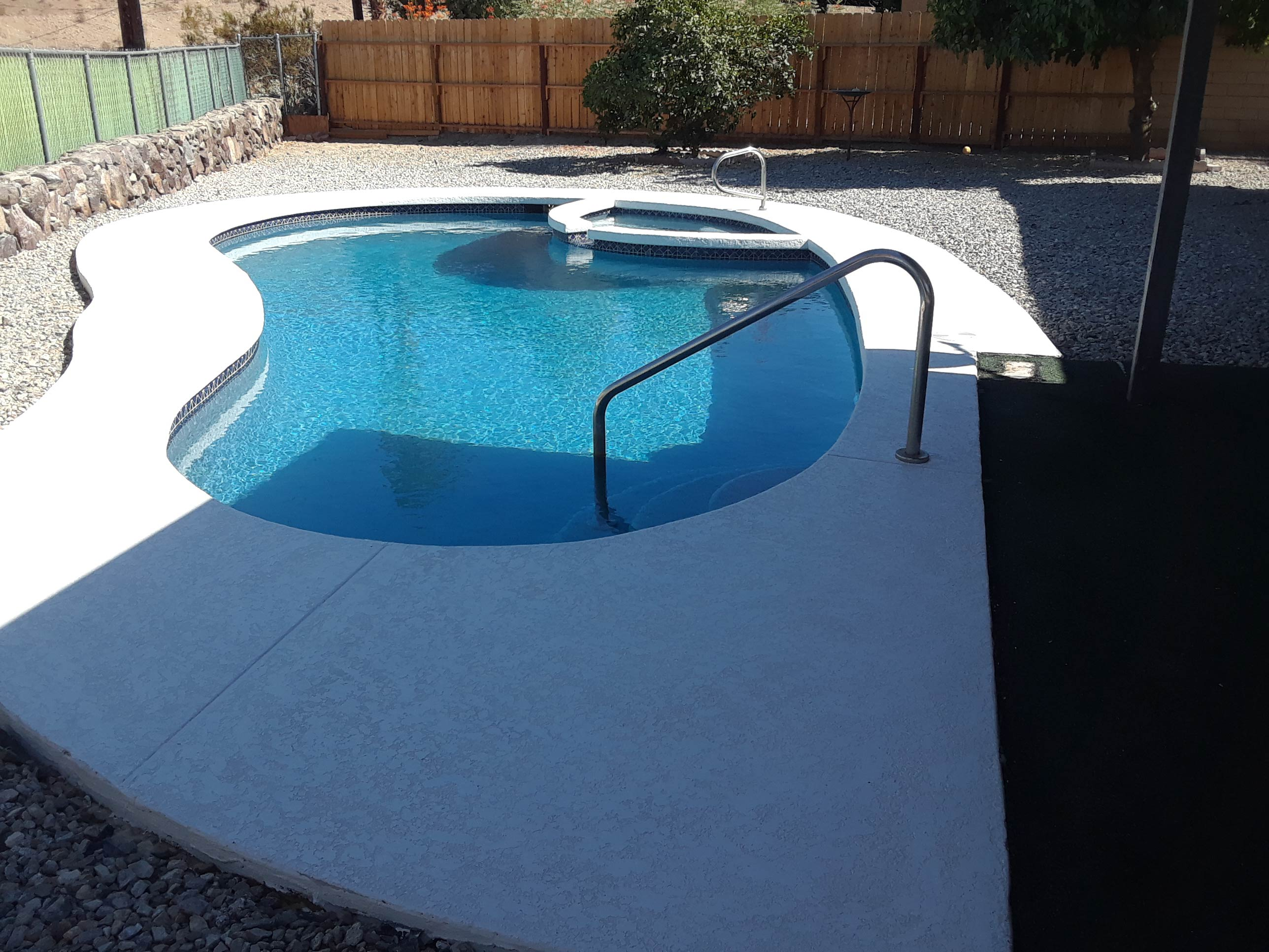 Pool Deck After